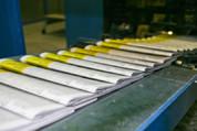 Weiterverarbeitung Druckerei, Bindearbeit Bonn, Produkt ARGO Projekt