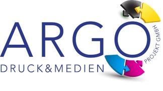 Logo ARGO, Medien Druck Projekt, Bonn Gestaltungskonzept